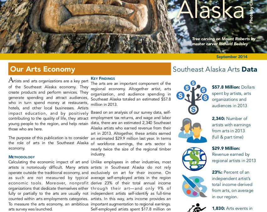 The Arts Economy of Southeast Alaska, 2014
