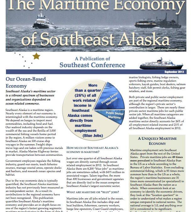The Maritime Economy of Southeast Alaska, 2013
