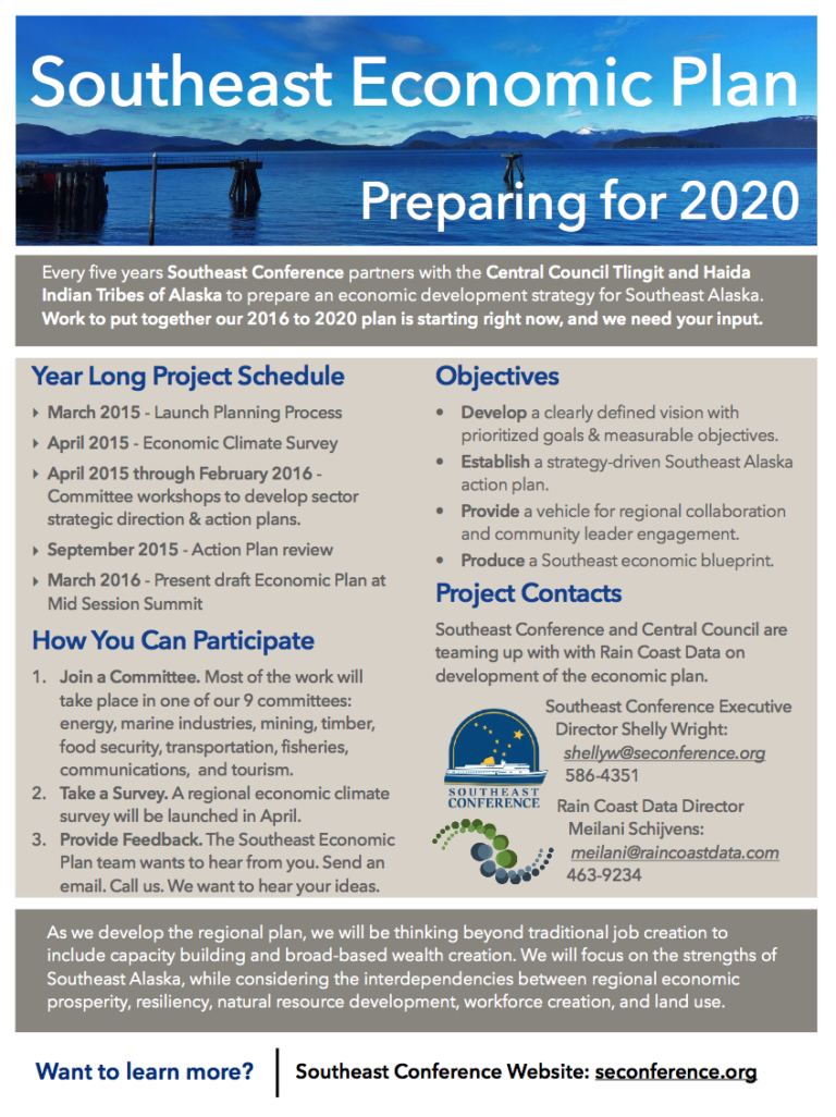 Southeast Economic Plan: Preparing for 2020 (Information Sheet)