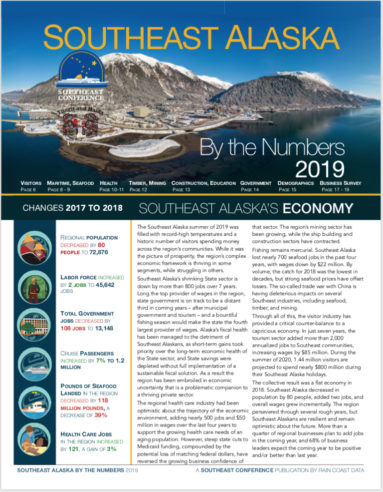 Southeast Alaska by the Numbers, 2019