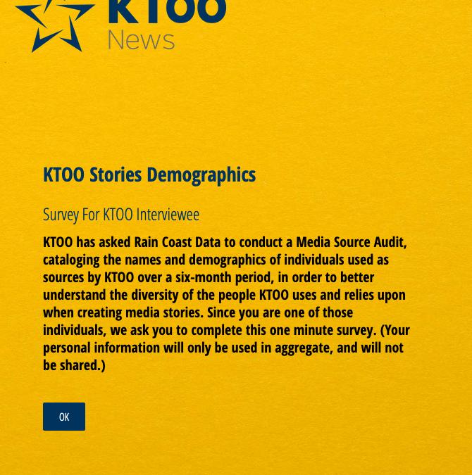 Source Audit for KTOO Public Media