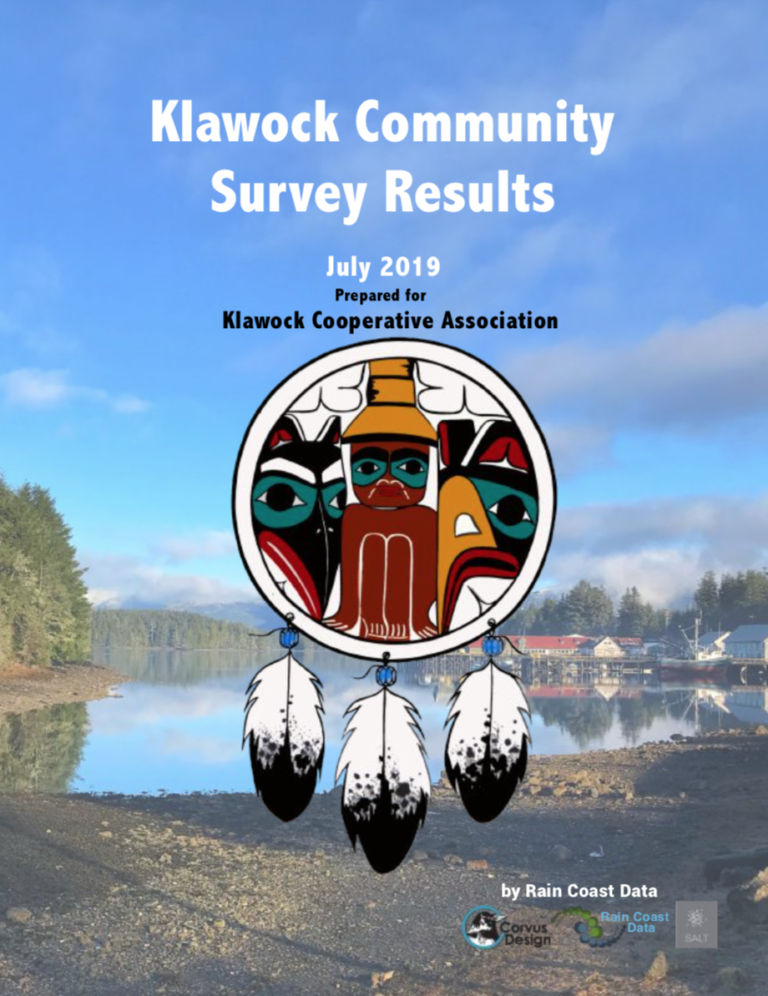 Klawock Community Assessment Survey Results