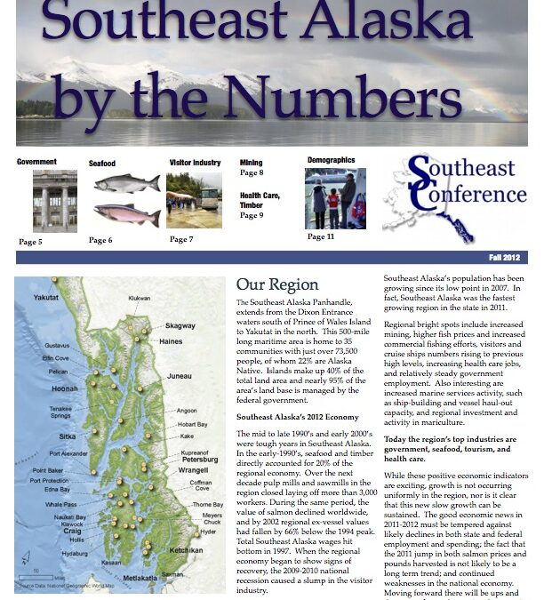 Southeast Alaska By the Numbers, 2012