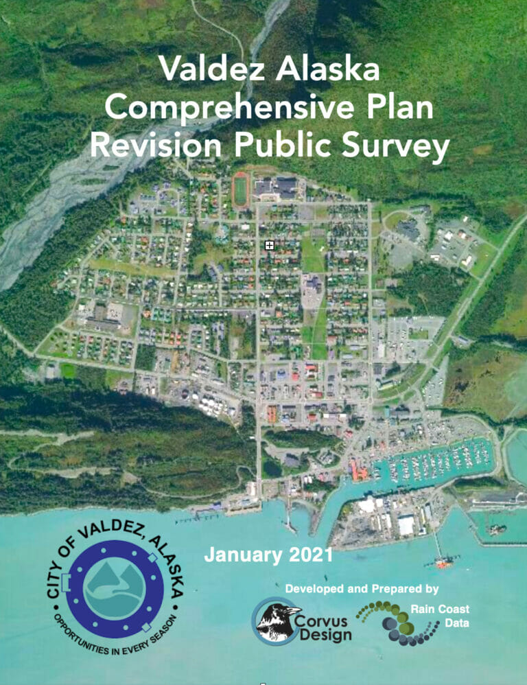 Valdez Alaska Comprehensive Plan Revision Public Survey